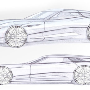 Alcraft GT exterior sketches